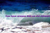 Deniz ile İlgili Sözler