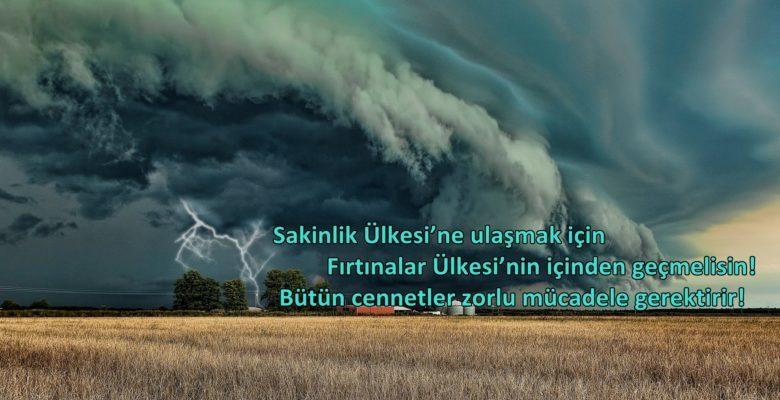 Fırtına ile İlgili Sözler