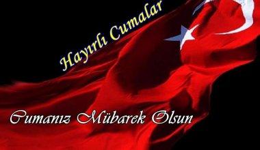Türk Bayraklı Cuma Mesajları
