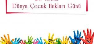 20 Kasım Dünya Çocuk Hakları Günü Mesajları