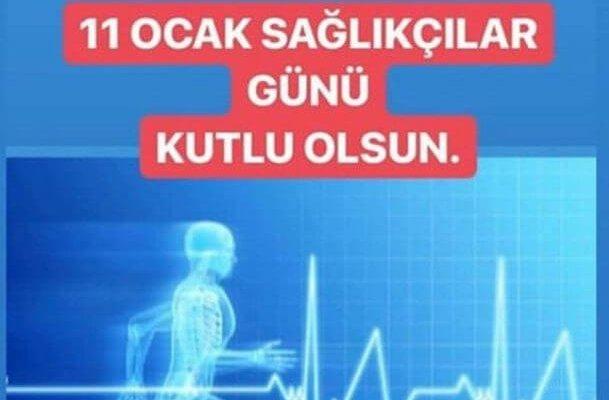 11 Ocak Türkiye Sağlıkçılar Günü Kutlama Mesajları