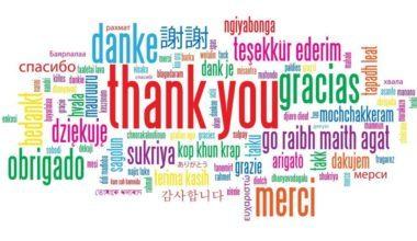 Teşekkür Sözleri ve Mesajları