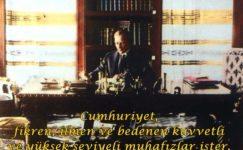 Atatürk'ün Spor ile İlgili Sözleri