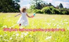 Papatya ile İlgili Resimli Sözler