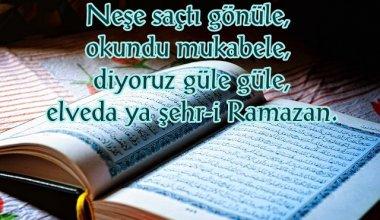 Elveda Ramazan Resimli Sözleri