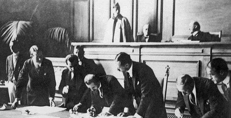 Lozan Barış Antlaşması Sözleri