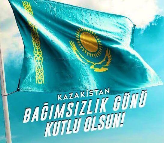 Kazakistan'ın Bağımsızlık Günü Kutlama Mesajları