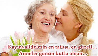Kaynanaya Anneler Günü Mesajları