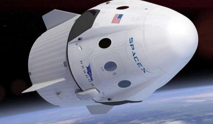 SpaceX İnsanlı Uçuş Gerçekleştirdi
