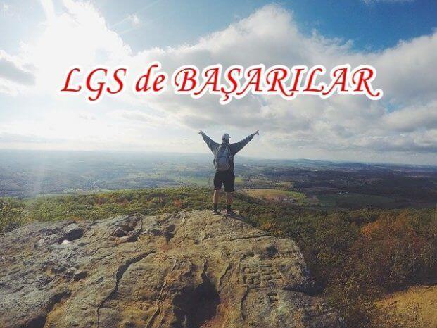 LGS Başarı Mesajları