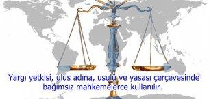 Yargı Bağımsızlığı ile İlgili Sözler