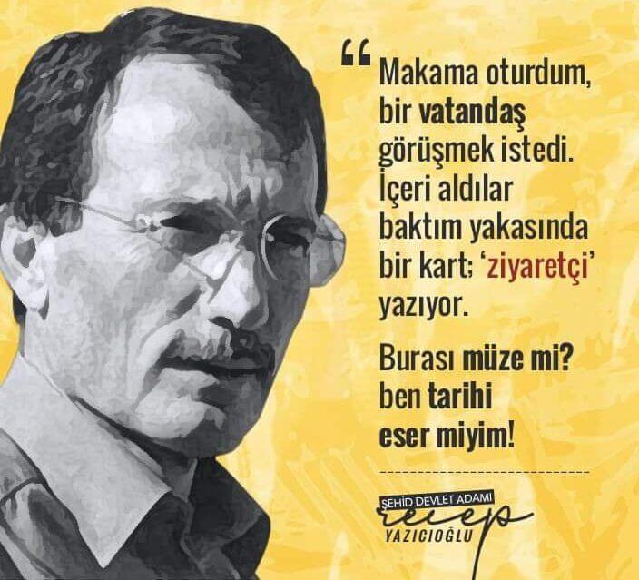 Süper Vali Recep Yazıcıoğlu Anma Mesajları | MUHTEŞEM SÖZLER