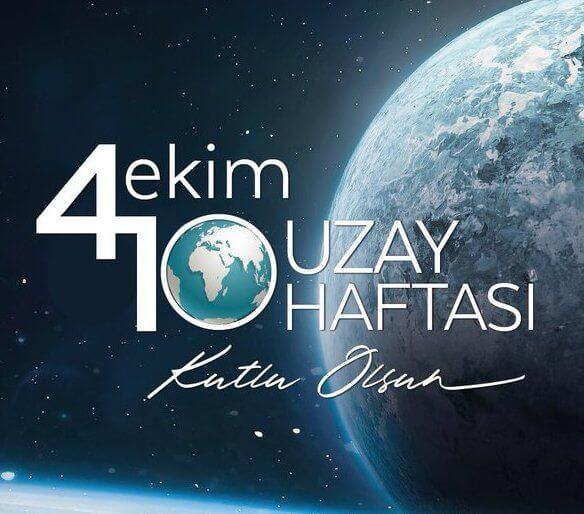 Dünya Uzay Haftası Mesajları